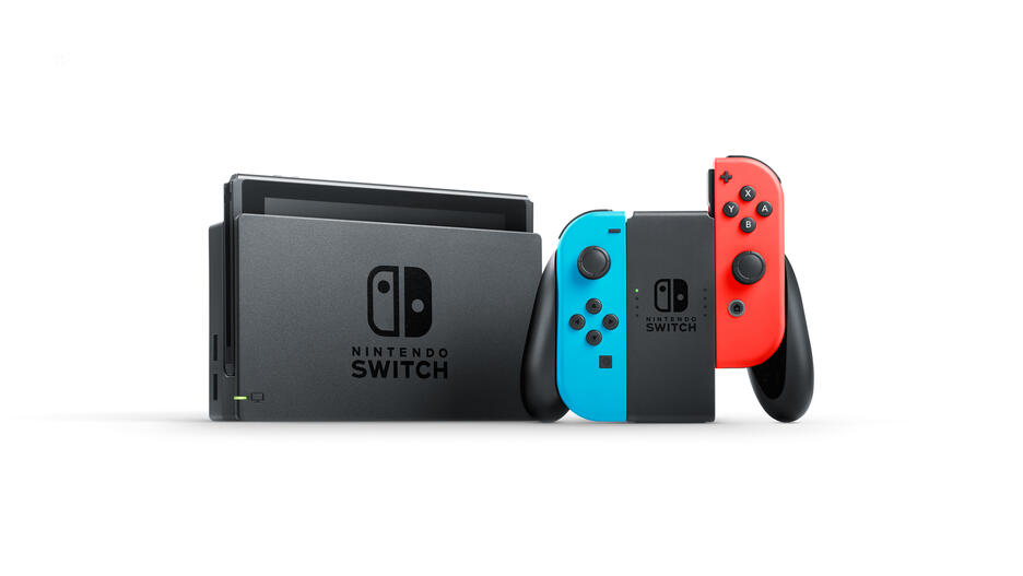 Nintendo Switch™ Red/Blue Console