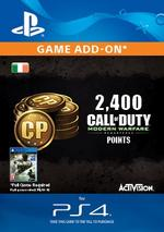 Call of Duty: Modern Warfare Remastered 2,400 Points for PS4