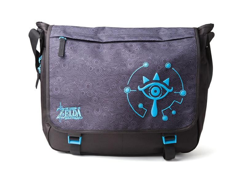 6e10840c3c The Legend of Zelda  Breath of the Wild - Sheikah Eye Messenger Bag ...