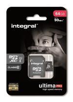 Integral Memory MicroSD Card - 64GB