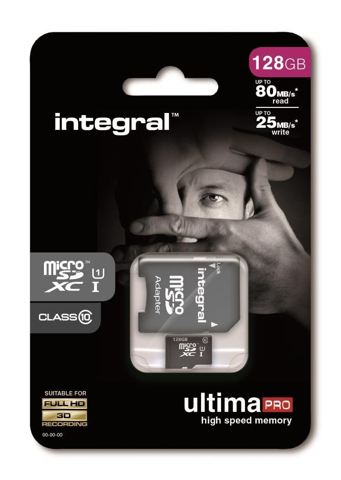Integral Memory MicroSD Card - 128GB