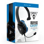 Turtle Beach® Black Recon Chat Headset For PS4