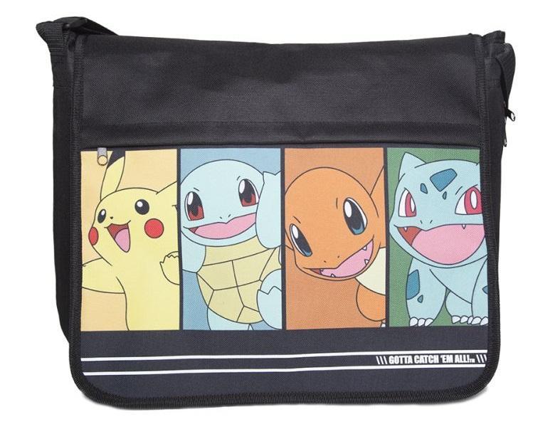 Pokémon - Characters Messenger Bag Gamestop 30f9641d1eb2b