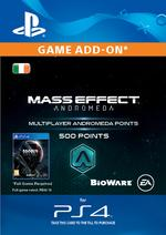 Mass Effect: Andromeda 500 Multiplayer Points for PS4