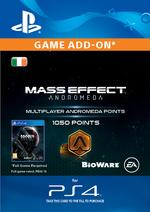 Mass Effect: Andromeda 1050 Multiplayer Points for PS4