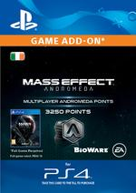 Mass Effect: Andromeda 3250 Multiplayer Points for PS4