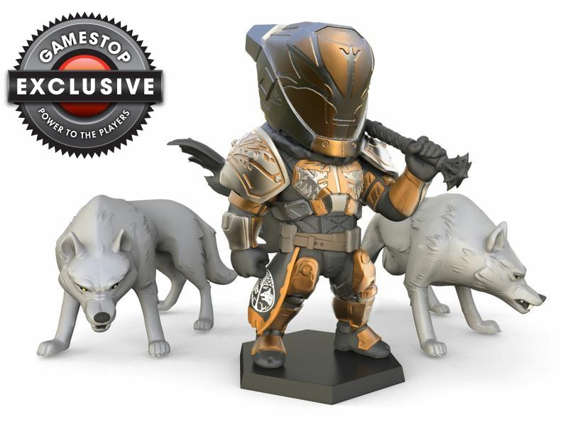 Destiny 2 Lord Saladin and His Wolfpack Figure [GameStop Exclusive]