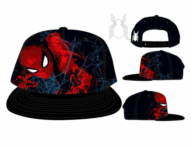 e08d1c8e20e Marvel Spiderman Homecoming Snapback Cap Gamestop