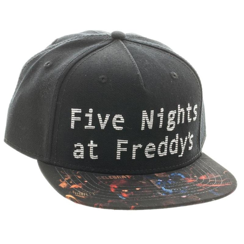 Five Nights At Freddy s  Sublimated Bill Snapback Cap Gamestop b6291504e3