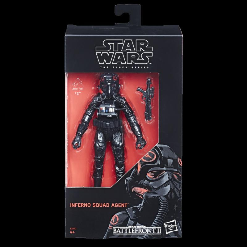 Star Wars The Black Series Battlefront II Inferno Squad Agent In Stock Now