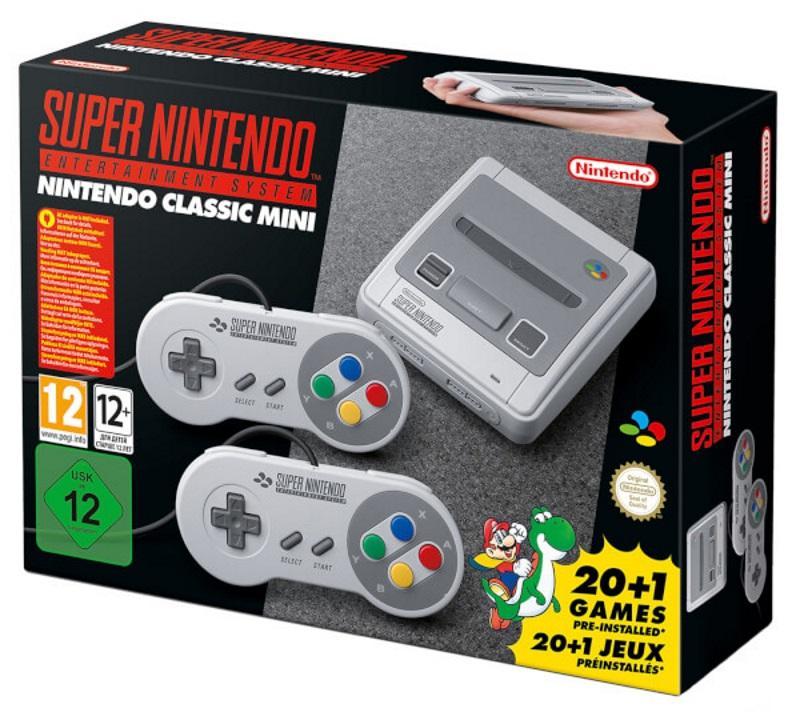 Nintendo Mini: Super Nintendo Entertainment System