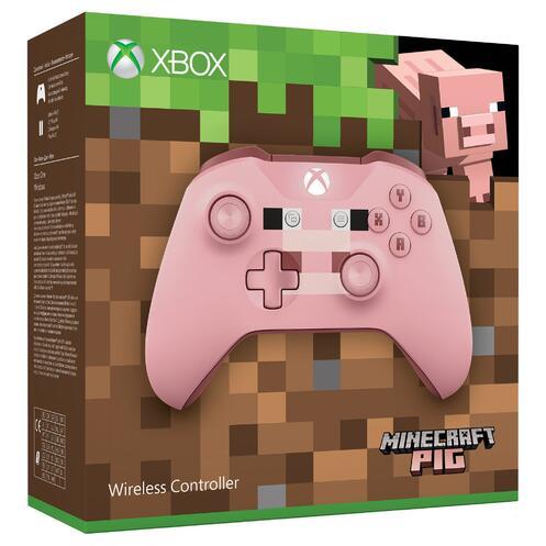 xbox one minecraft pig wireless controller gamestop
