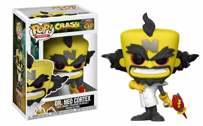 Pop! Games: Crash Bandicoot - Neo Cortex