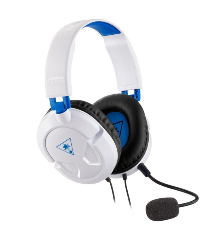 Turtle Beach Recon 50P White Gaming Headset for PS4
