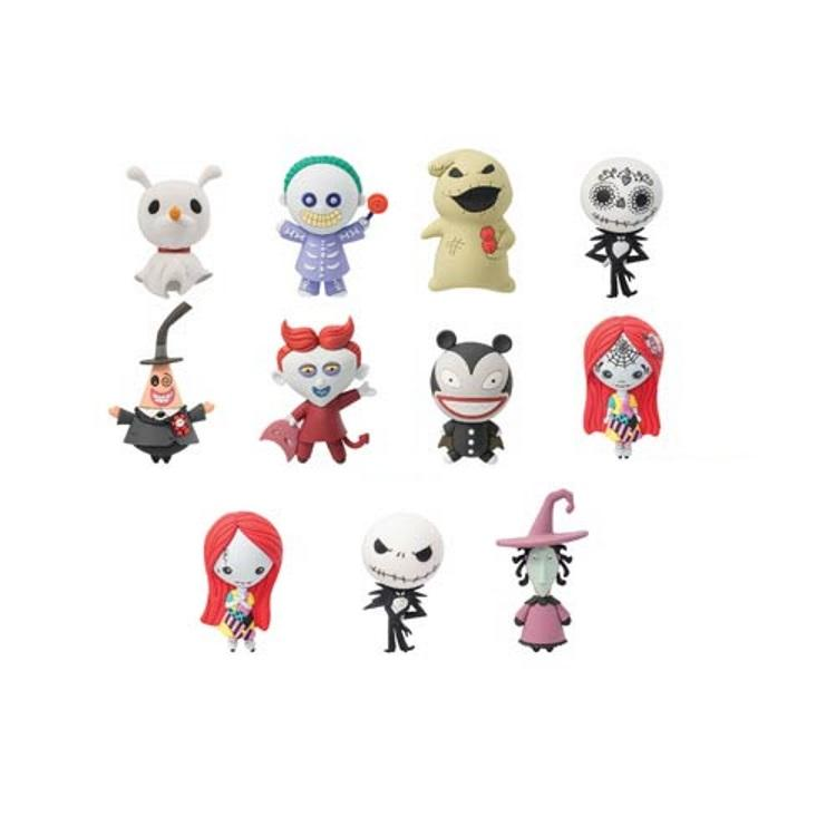 the nightmare before christmas assorted characters keychain - Characters In Nightmare Before Christmas