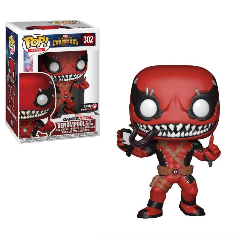 pop marvel contest of champions venompool gamestop