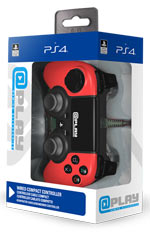 At Play: Wired Red PS4 Controller