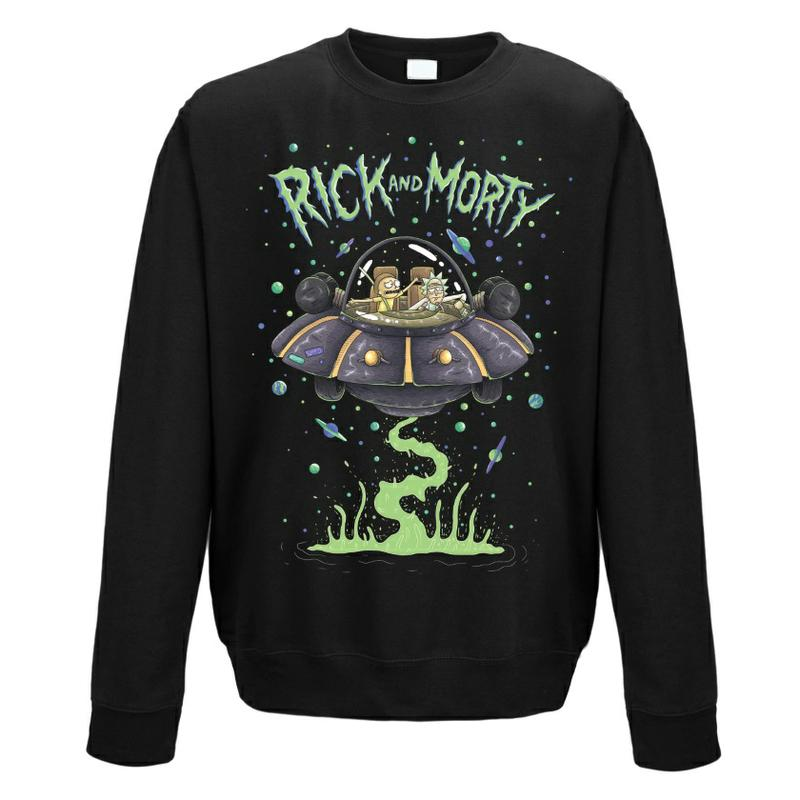 Rick and Morty: Rick and Morty Space Cruiser Jumper [Large]