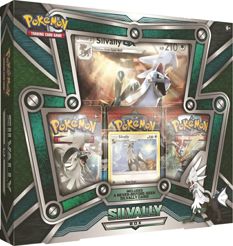 pokemon tcg silvally box gamestop