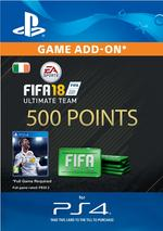 FIFA 18 Ultimate Team - 500 Points for PS4