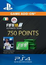 FIFA 18 Ultimate Team - 750 Points for PS4