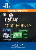 FIFA 18 Ultimate Team - 1050 Points for PS4