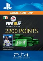 FIFA 18 Ultimate Team - 2200 Points for PS4