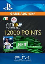 FIFA 18 Ultimate Team - 12000 Points for PS4