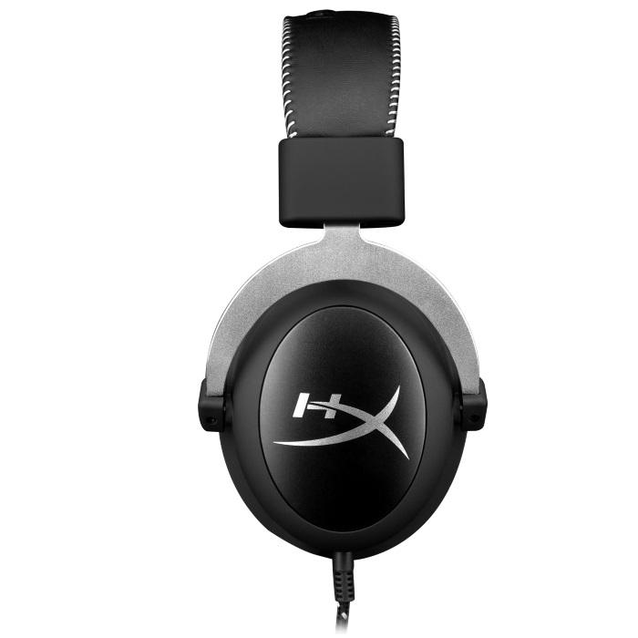 HyperX Cloud Pro Gaming Headset - Silver GameStop Ireland