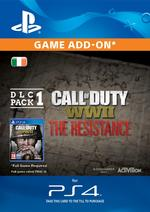 Call of Duty: WWII - The Resistance DLC Pack 1 for PS4