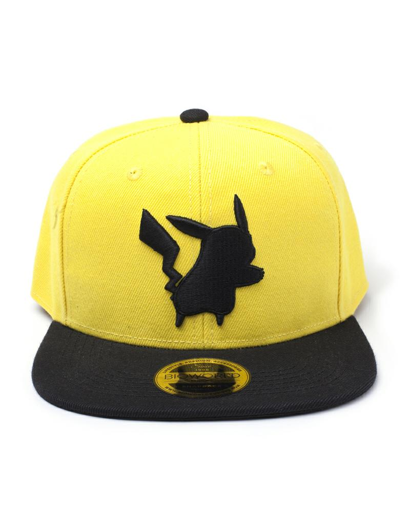 Pokmon Pikachu Yellow Silhouette Snapback Gamestop