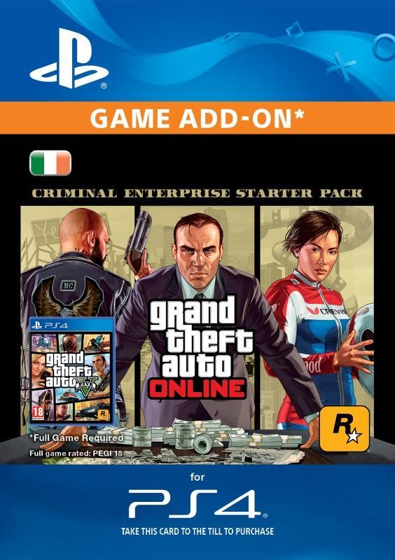 f878bfdb6bd Grand Theft Auto V: Criminal Enterprise Starter Pack for PS4 [DIGITAL]