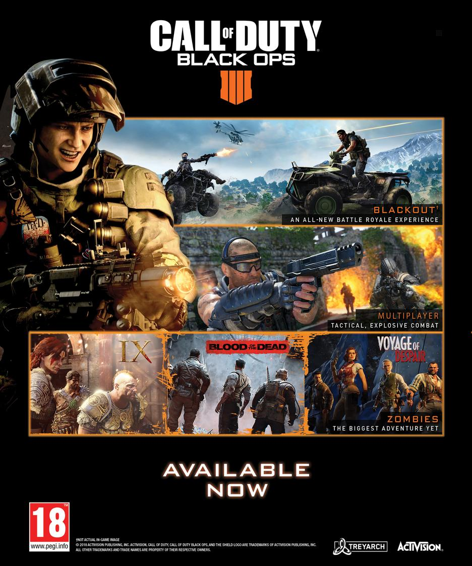 Call Of Duty: Black Ops 4 - Specialist Edition GameStop Ireland