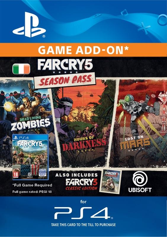 Far Cry 5: Season Pass for PS4 [DIGITAL]