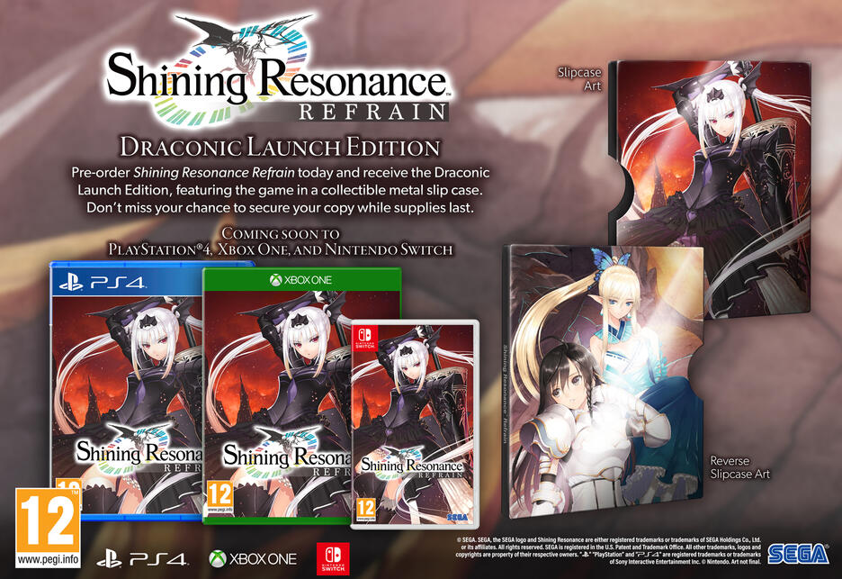Shining Resonance Refrain [Draconic Launch Edition]