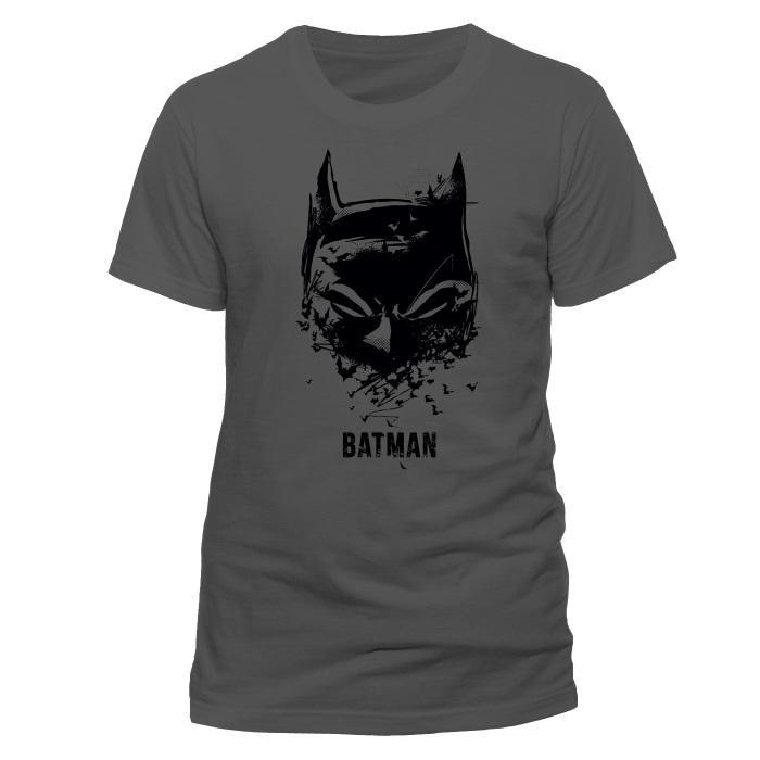 50b8a8312 DC Comics: Batman - Mask Sketch T-Shirt - Medium [Only at GameStop