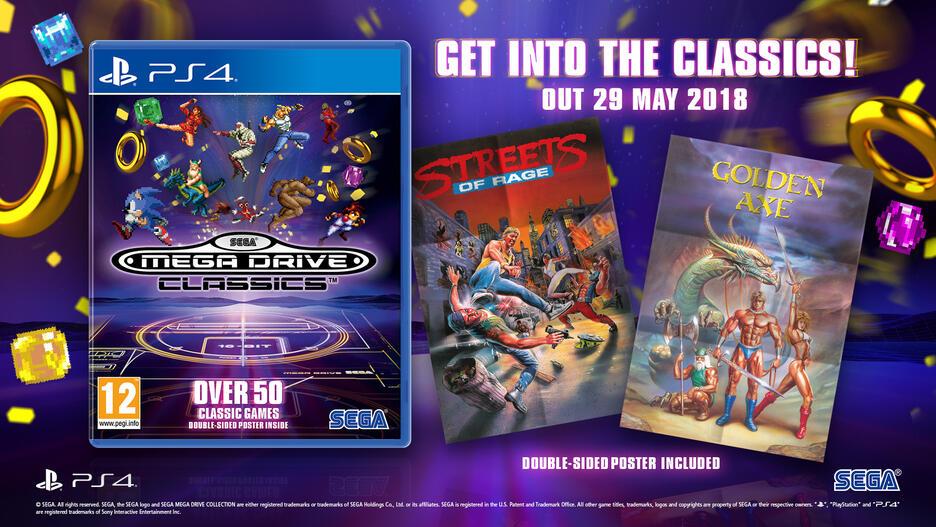 Sega Mega Drive Classics GameStop Ireland