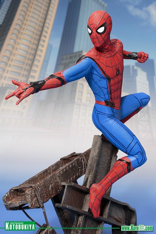 2468adf318 Marvel  Spider-Man Homecoming - Spider-man Artfx Statue GameStop Ireland