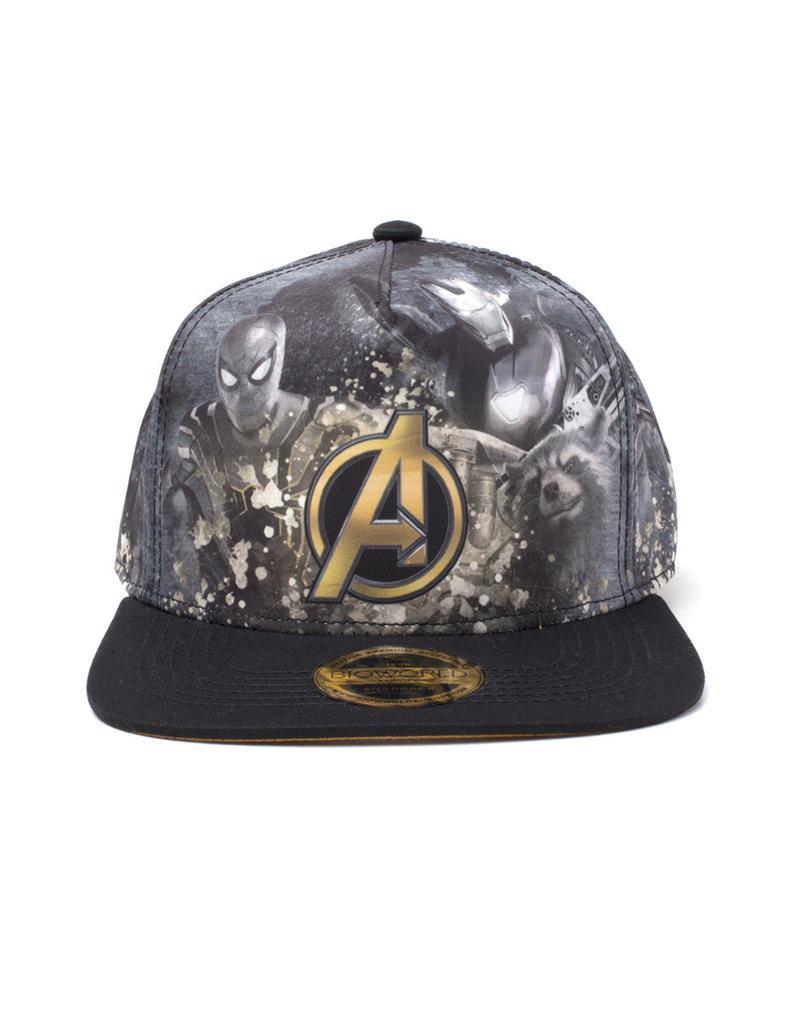 Marvel  Avengers Infinity War - All-over Print Snapback Gamestop 7759721a41e