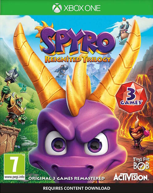 Spyro Reignited Trilogy Gamestop