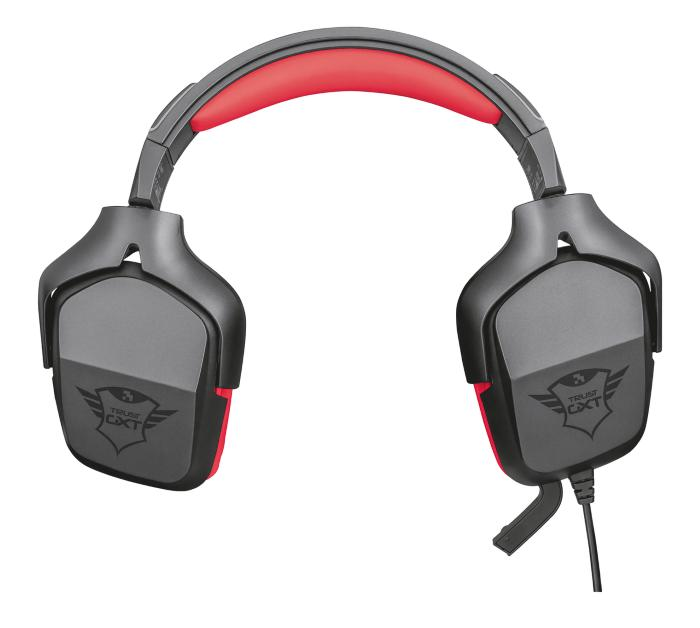 Trust GXT 344 Creon Gaming Headset GameStop Ireland