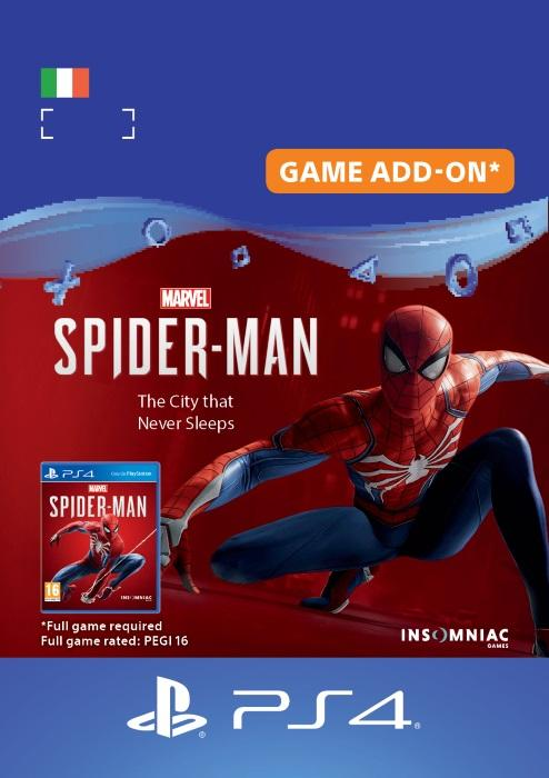 Marvel's Spider-Man: The City that Never Sleeps for PS4 [DIGITAL]