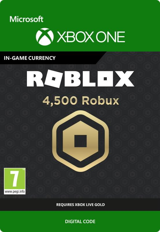 Roblox: 4500 Robux for Xbox One [DIGITAL]