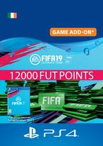 FIFA 19 Ultimate Team™ - 12000 FUT Points for PS4