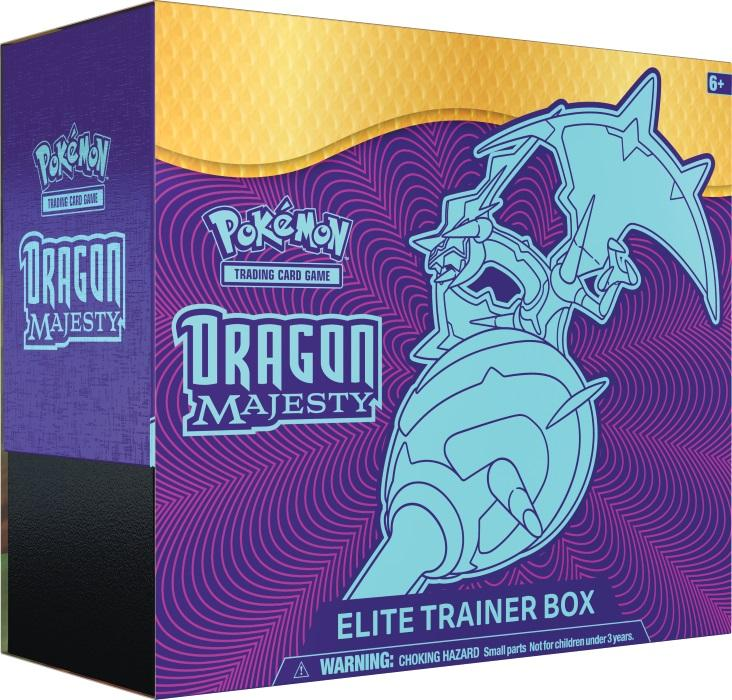 pokémon tcg dragon majesty elite trainer box gamestop