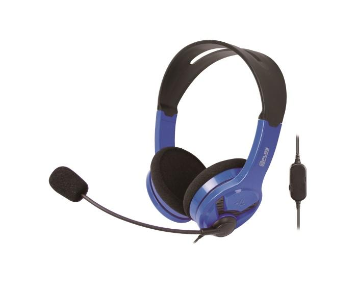 At Play Black/Blue Wired Headset for PS4