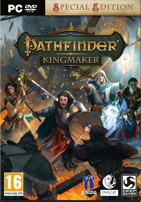 Kết quả hình ảnh cho Pathfinder: Kingmaker pc cover