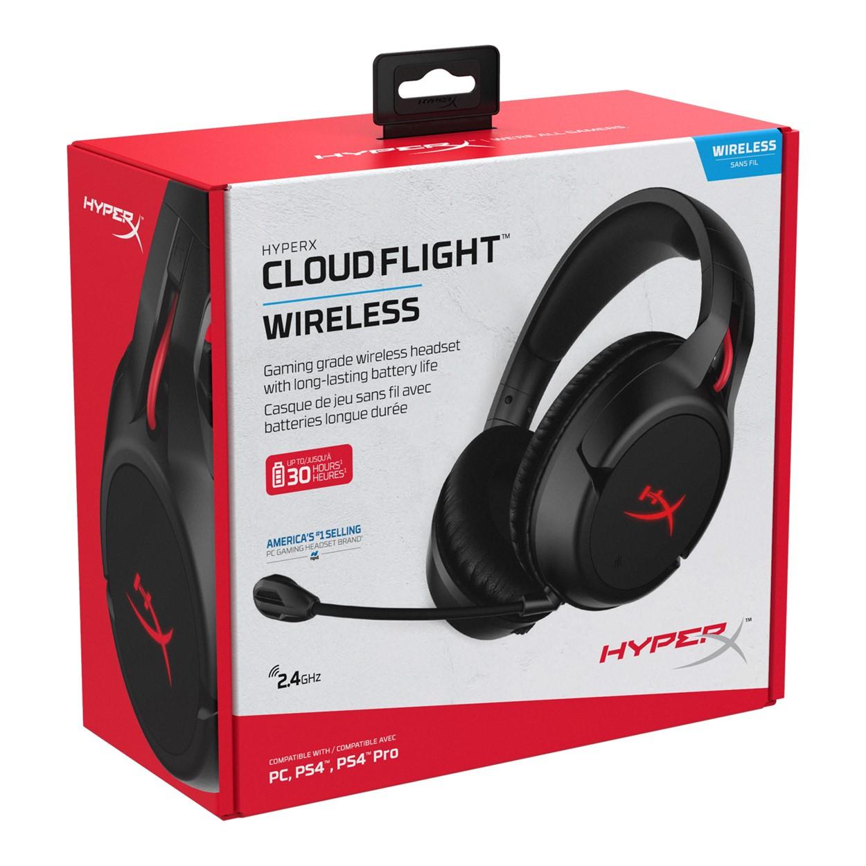 6b033f81d78 HyperX™: Cloud Flight™ Wireless Gaming Headset GameStop Ireland