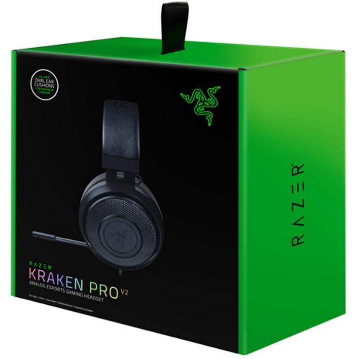 Razer™ Black Kraken Pro V2 Multi-Platform Headset