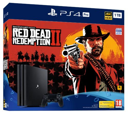 PlayStation®4 Pro 1TB Console & Red Dead Redemption 2